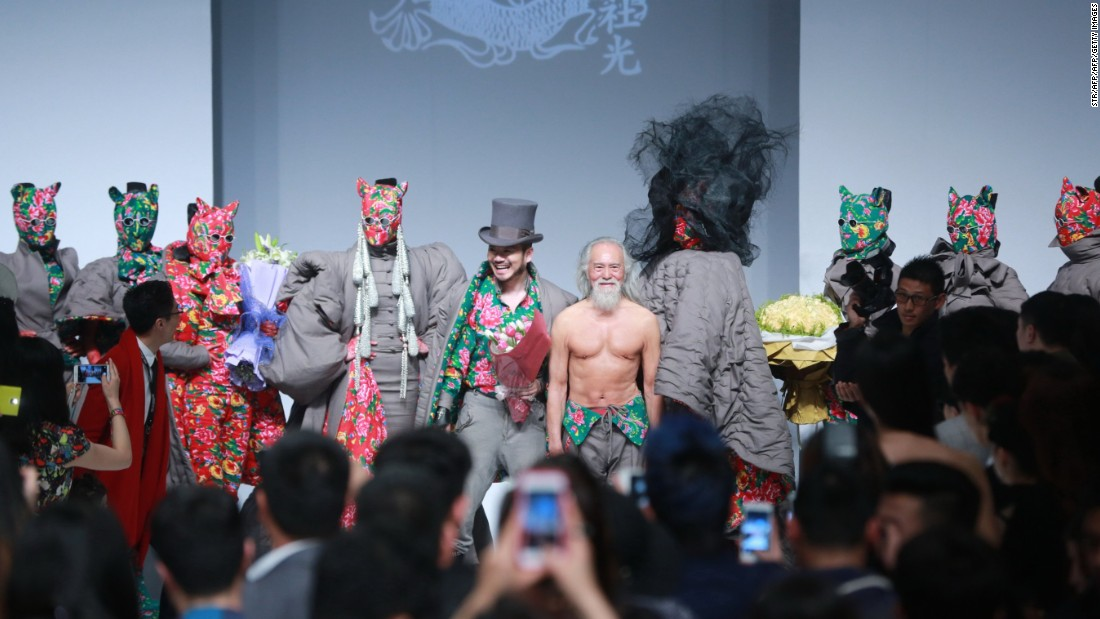 "80-year-old Wang Deshun made <a href=""http://edition.cnn.com/2016/11/17/fashion/chinas-hottest-grandpa/"">headlines</a> as ""China's hottest grandpa"" after walking in China Fashion Week in 2015."