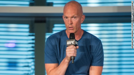 Jeff Novitzky, vice president of athlete health and performance for the UFC, in 2016.