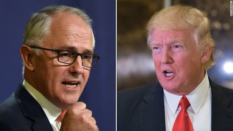 Trump had heated exchange with Australian PM