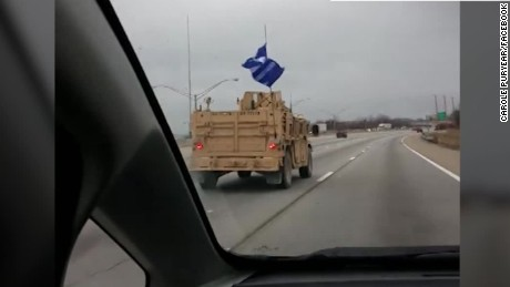 exp  flag spotted on Navy convoy_00002806