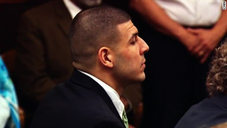 Aaron Hernandez is accused of killing two men in July 2012.