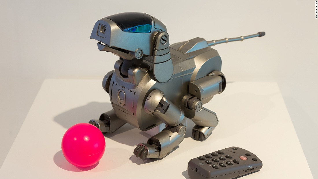 AIBO Entertainment robot, model ERS-110 -- Sony.