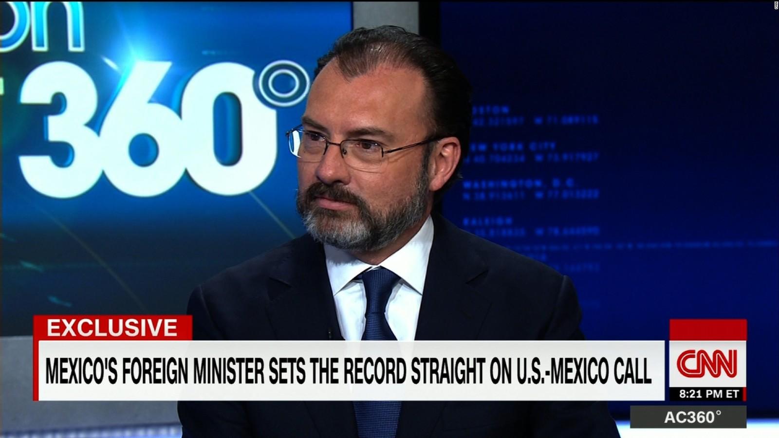 foreign minister trump phone call was constructive foreign minister trump phone call was constructive cnnpolitics com