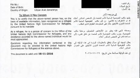 Hass' refuge certificate