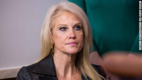 Kellyanne Conway during the daily press briefing in the James Brady Press Briefing Room at the White House, January 24, 2017 in Washington, DC. Spicer did not offer evidence to support President Trump's claim that millions of people voted illegally. (Photo by Cheriss May/NurPhoto via Getty Images)