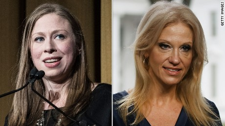 Chelsea Clinton knocks Kellyanne Conway: 'Please don't make up attacks'