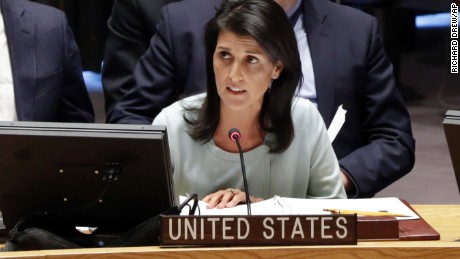 Analysis: Nikki Haley adds to tough talk with North Korea response