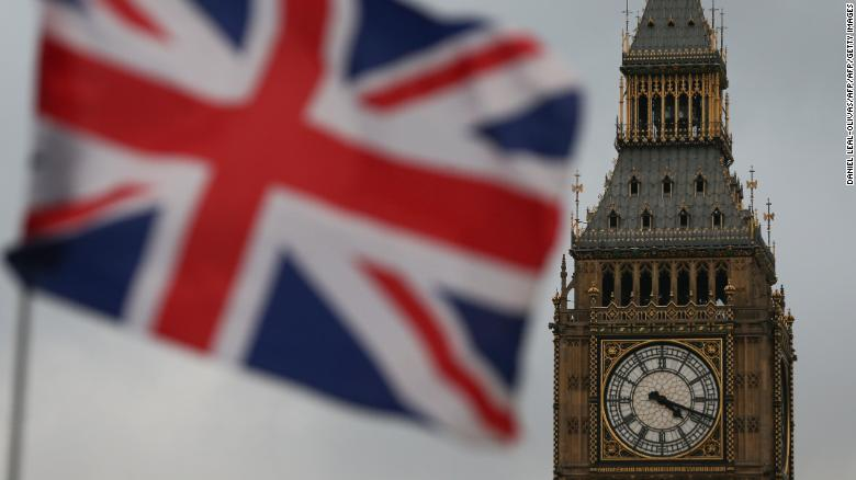 A Union flag flies near the The Elizabeth Tower, commonly known Big Ben, and the Houses of Parliament in London on February 1, 2017. British MPs are expected Wednesday to approve the first stage of a bill empowering Prime Minister Theresa May to start pulling Britain out of the European Union. Ahead of the vote, which was scheduled to take place at 7:00 pm (1900 GMT), MPs were debating the legislation which would allow the government to trigger Article 50 of the EU's Lisbon Treaty, formally beginning two years of exit negotiations. / AFP / Daniel LEAL-OLIVAS        (Photo credit should read DANIEL LEAL-OLIVAS/AFP/Getty Images)