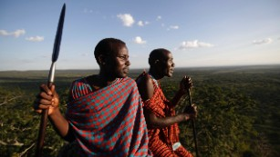 Lion-killer Maasai turn wildlife warriors to save old enemy