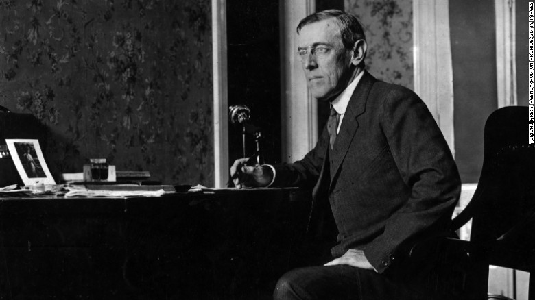 The Immigration Act of 1917 was vetoed by President Woodrow Wilson.