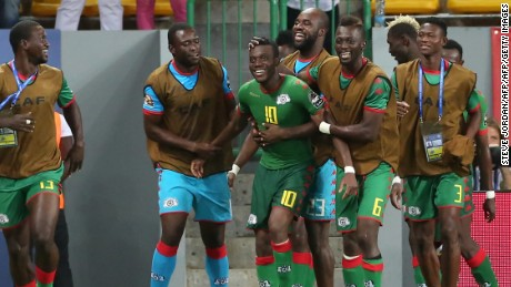 It was late but great for Burkina Faso as a powerful freekick from Alain Traore stole the win -- and third place -- right at the death.