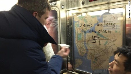New York City Subway Riders are Fighting Neo-Nazism With Hand Sanitizer