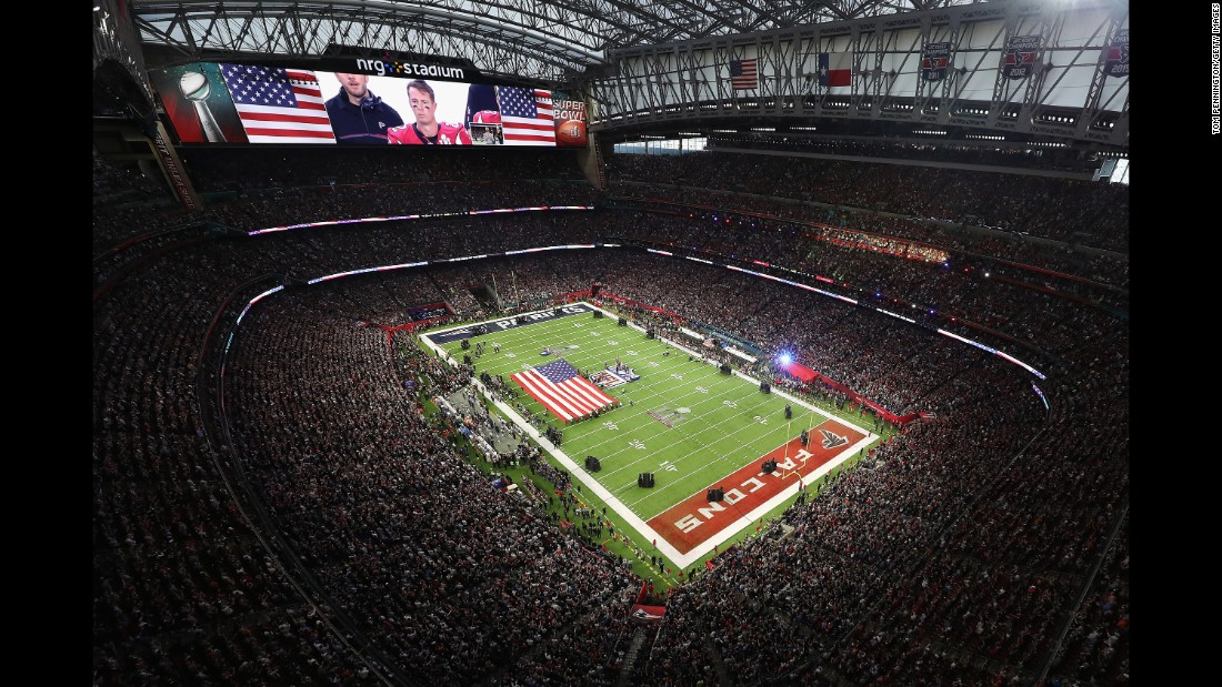 The game was played at NRG Stadium, home of the NFL's Houston Texans.
