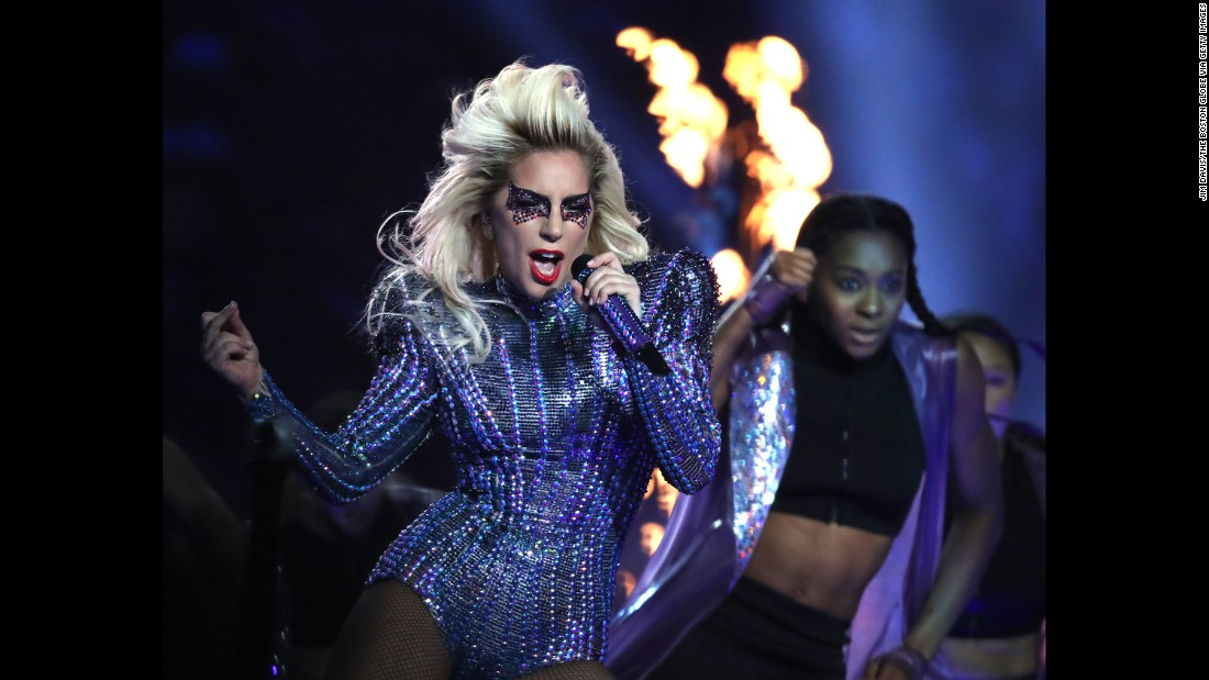 Image result for gaga super bowl