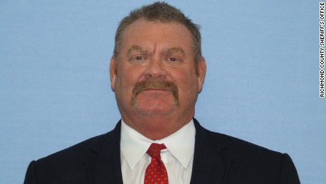 Greg Meagher, who worked for a Georgia sheriff's office, died after responding to a call at a sperm bank