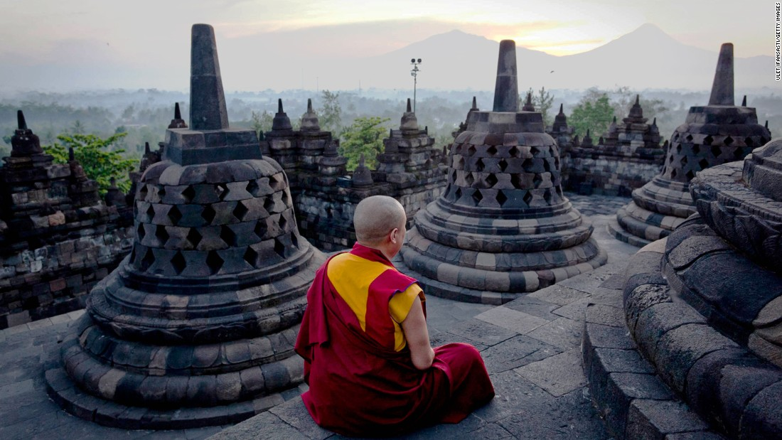 <strong>Borobudur, Java, Indonesia: </strong>For an extraordinary experience, it's impossible to beat visiting the ninth-century Buddhist monument of Borobudur, says Sophie Marchant, travel editor of LuxuryExplorer.com.