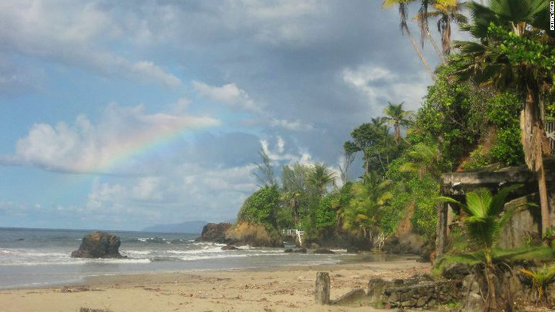 <strong>Blanchisseuse Beach, Trinidad:</strong> Katelyn Smith, founder of The Remote Nomad, suggests heading to this beach in Trinidad to see baby turtles, surf, eat seafood and pick up some local slang.