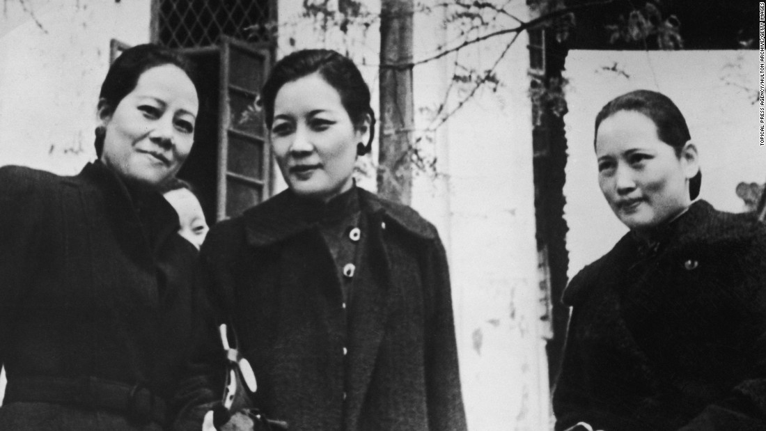 The Soong sisters -- (L-R) Ai-ling, Mei-ling and Ching-ling -- all played an important role in 20th century Chinese politics. <br /><br />Ai-Ling, the eldest, was married to H. H. Kung, one of China's richest men in the early 20th century; Ching-ling was the wife of Sun Yat-sen, who is often regarded as the father of modern China and served as the Republic of China's first president; and Mei-ling was married to Chiang Kai-shek, leader of the Republic of China from 1928 to 1975.