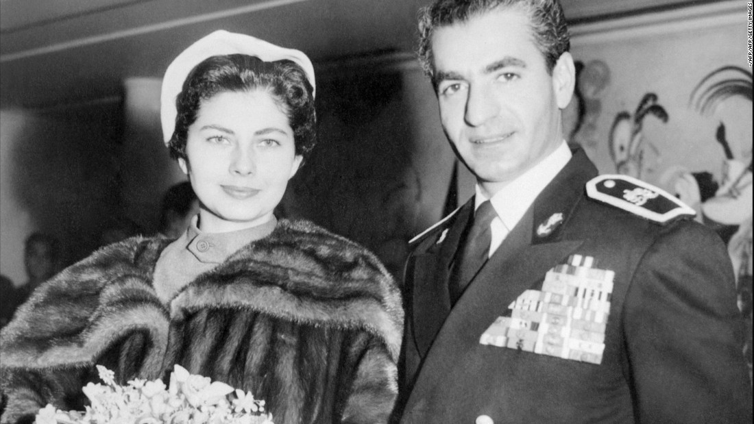 Shah Mohammad Reza Pahlavi and Soraya married in 1951, but the marriage was short-lived. The shah divorced her in 1958 because she could not give him an heir.