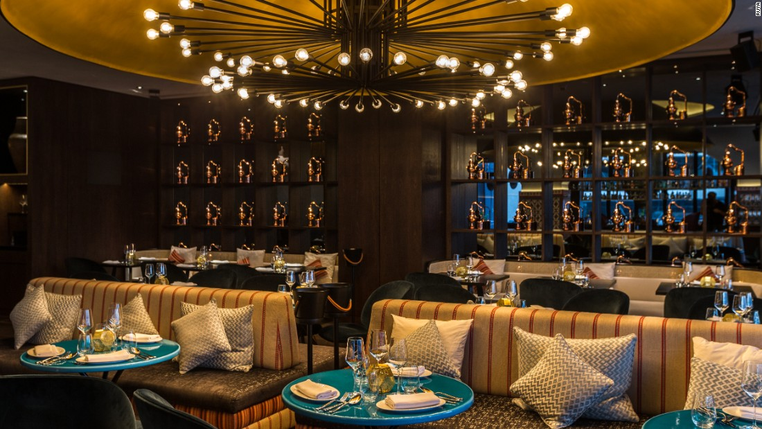 """The location (sells this restaurant) Inside Grosvenor House overlooking Dubai Marina, it oozes atmosphere and slick service."""