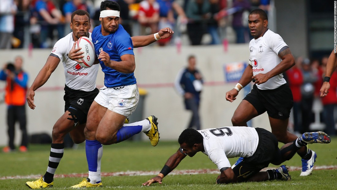 Coached last season by Englishman Damian McGrath, Samoa won the Paris Sevens tournament -- beating Fiji in the final -- but finished ninth in the world series and failed to qualify for the Rio 2016 Olympics.