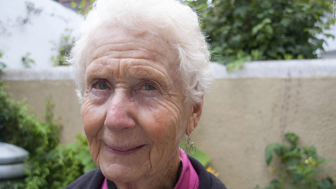 <strong>Super-cyclist: </strong>78-year-old Montana woman Ethel Macdonald has been tour cycling since 2003, and estimates she's covered more than 10,000 miles across Europe and the US.