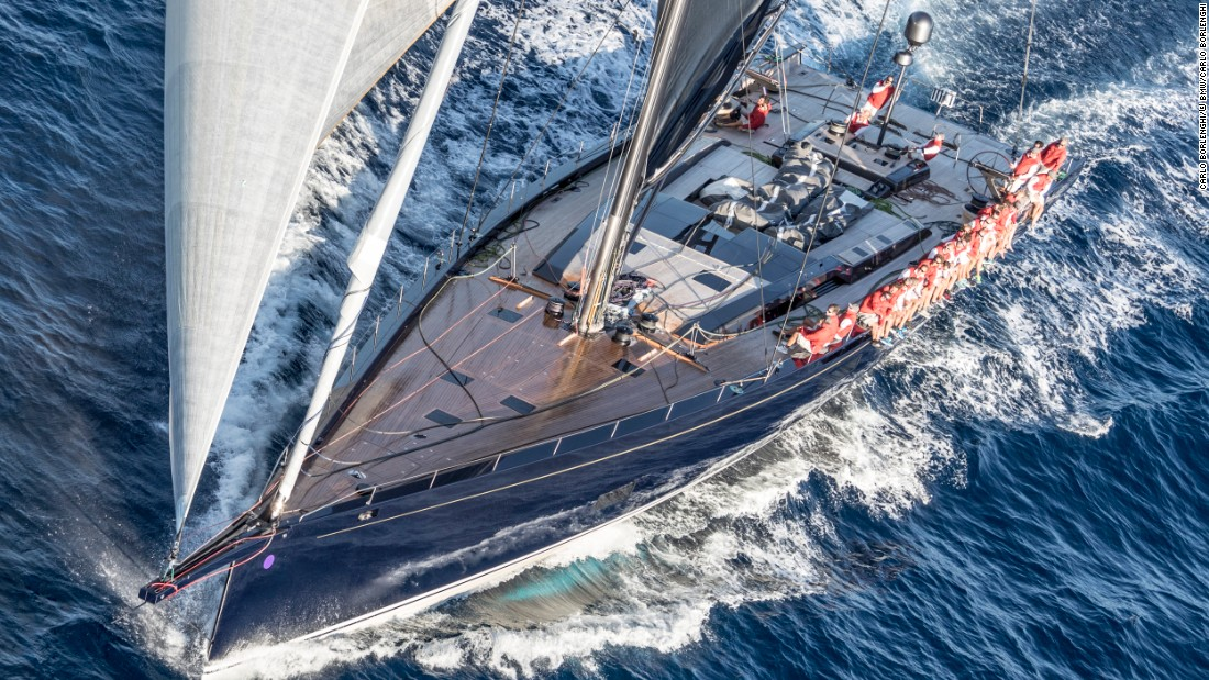 "My Song also won the award for Most Innovative Sailing Yacht thanks to her fully retractable propeller and a ""crush nose"" that reduces the impact and damage of grounding."
