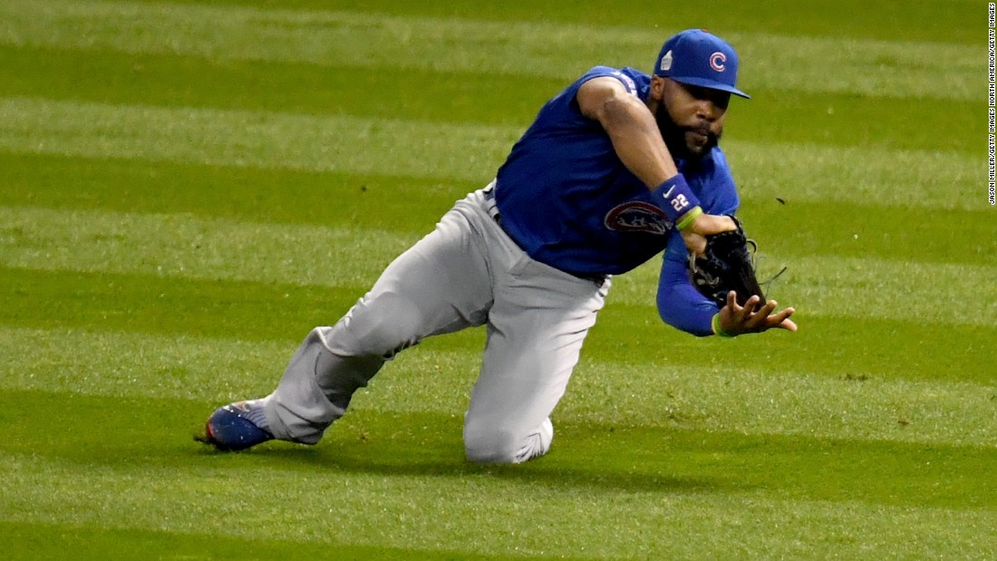 The 27-year-old right fielder was an integral part of the Cubs' epic 2016 World Series win, firing up the team with an impassioned speech during the 17-minute rain delay in Game 7. Justin Heyward, a three-time Golden Glove winner who signed an eight-year $184 million contract in 2015, is perhaps the lone position player in the top 20 credited more for his defense.