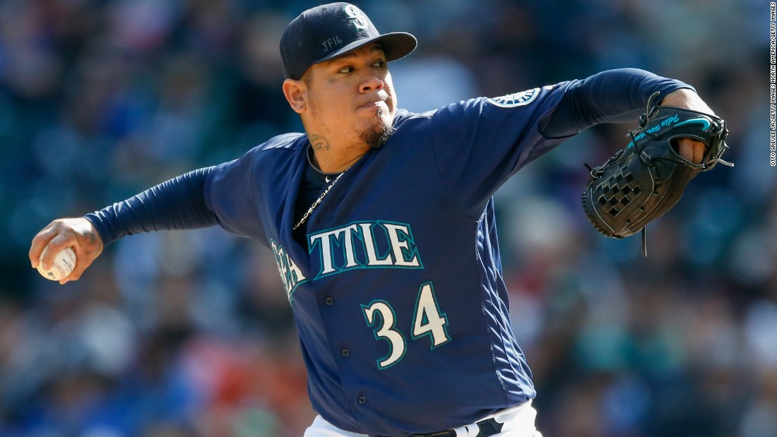 At 30, Venezuelan-born Felix Hernandez is already the Seattle Mariners' all-time leader in wins and strikeouts, and pitched the franchise's only perfect game in 2012. Although the Mariners rewarded the 2010 Cy Young winner with a seven-year, $175 million contract, its 15-season, league-leading playoff drought continues.