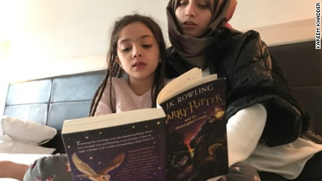 Author J.K. Rowling sent Harry Potter books to  her young fan Bana.