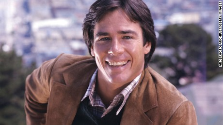 "The actor Richard Hatch on a 1976 promo photo for the show ""The Streets of San Francisco."""