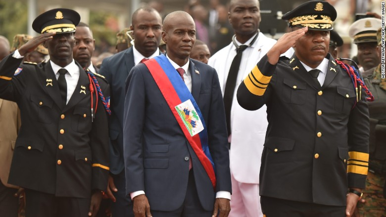 Haiti's new President sworn in after yearlong political stalemate