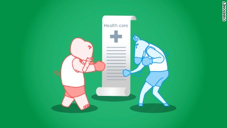 cnnmoney health care battle