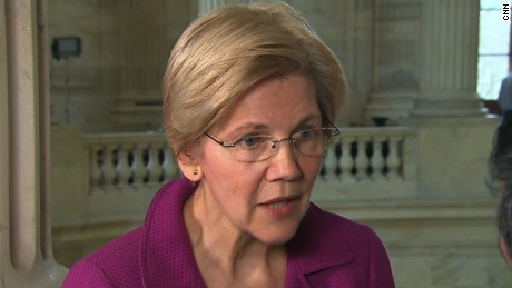 Sen. Warren reacts to her Senate rebuke