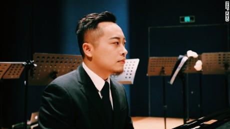 Conductor Jin Chengzhi.