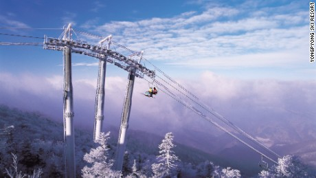 PYEONGCHANG, South Korea -- Yongpyong Ski Resort in Pyeongchang County, Gangwon Province, South Korea. Future site of 2018 PyeongChang Olympics. (Photo courtesy of Yongpyong Ski Resort)