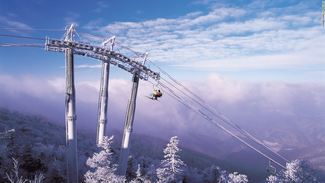 <strong>2018 Winter Olympics:</strong> Next year's Olympic Games will be held in Pyeongchang, South Korea. Yongpyong Ski Resort, pictured, will host some of the events.