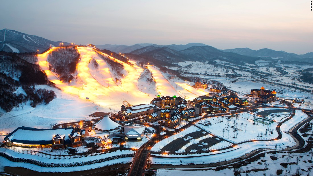 <strong>Alpensia Resort: </strong>Pyeongchang's Alpensia ski resort will also host Olympic Games events in 2018.