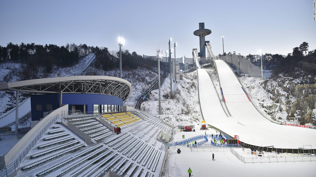 <strong>Alpensia Ski Jumping Centre: </strong>The 2018 games will take place from February 9 to 25. The city was named as the host of the games in 2011, beating out two other bid cities: Munich, Germany, and Annecy, France.