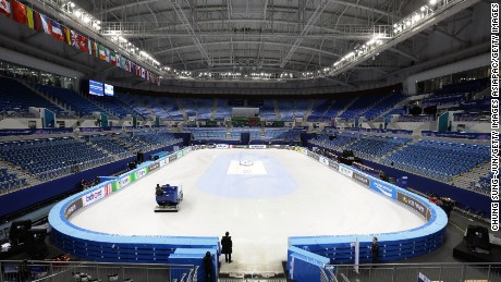 The Gangneung Ice Arena will host two sports, figure skating and short track speed skating.