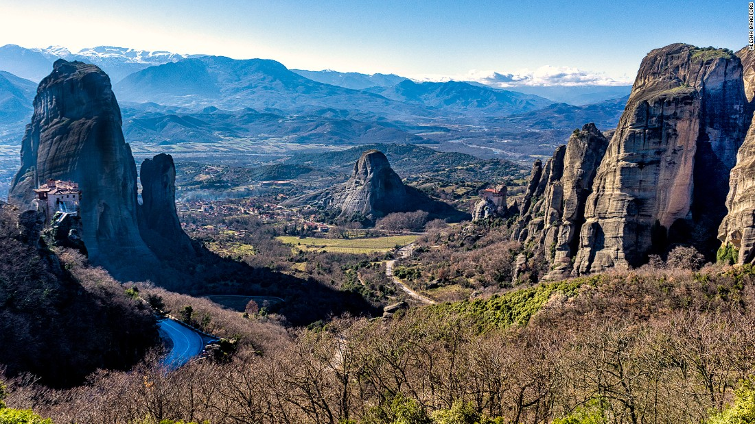 <strong>Meteora: </strong>This celebrated view of Meteora has become one of the most photographed spots in Greece.