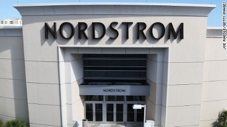 MIAMI, FL - FEBRUARY 08:  A Nordstrom store is seen on February 8, 2017 in Miami, Florida. Today, President Donald Trump commented on Twitter that the department store Nordstrom had treated his daughter Ivanka Trump unfairly after dropping her clothing label from the store.  (Photo by Joe Raedle/Getty Images)