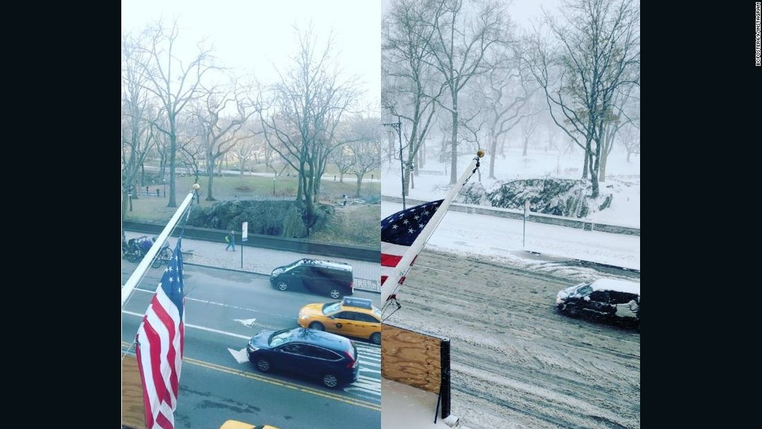 Here's What 60 Degrees To Snowstorm In 24 Hours Looks Like