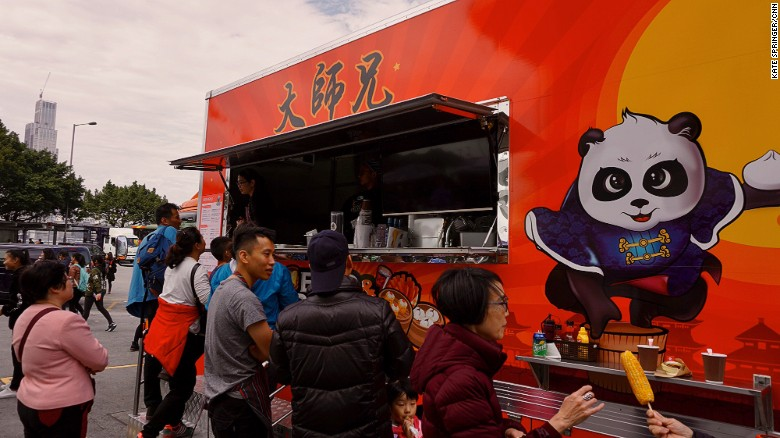 Food Trucks Hit The Streets In Hong Kong