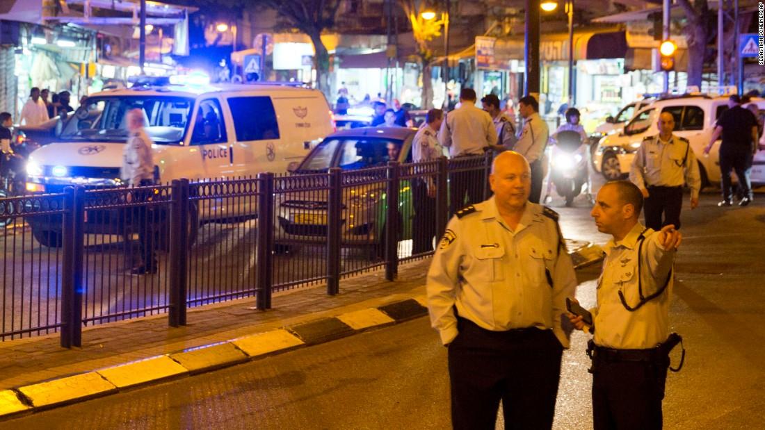 At Least 8 Injured In Tel Aviv Market Attack