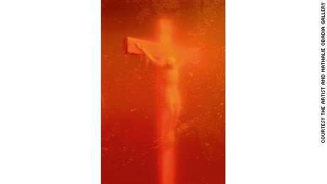 """Piss Christ"" (1987) by Andres Serrano"