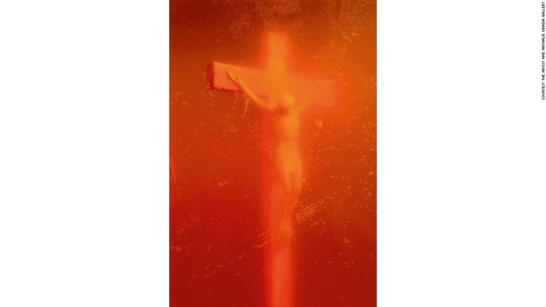 "Andres Serrano's ""Piss Christ"" -- which sees a figure of Christ on the cross submerged in urine -- has been repeatedly vandalized by those who find it blasphemous. But in <a href=""https://www.thamesandhudson.com/Art_Religion_in_the_21st_Century/9780500239315"" target=""_blank"">""Art & Religion in the 21st Century,""</a> author Aaron Rosen says it could easily be read as a devotional image. <br /><br />""What better way to meditate on the torments and degradation of Christ -- both in his time and ours -- than to see his form submerged in urine?"" he writes."