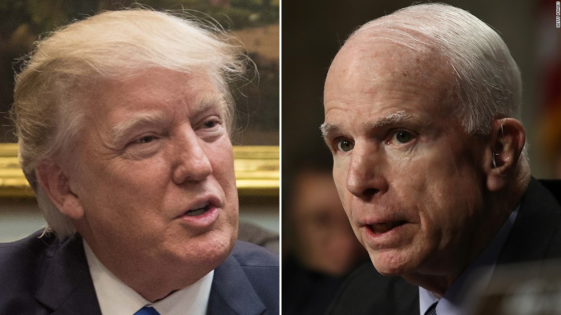 McCain: Dictators 'get started by suppressing free press'