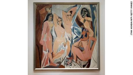 """""""Les Demoiselles d'Avignon"""" (1907) by Pablo Picasso"""
