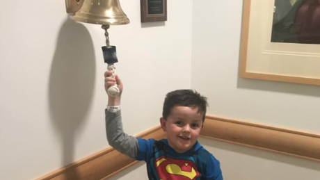Boy celebrates chemo ending with heart-warming dance